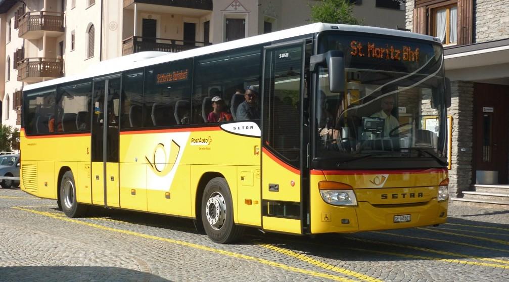 Setra 415 St-Moritz