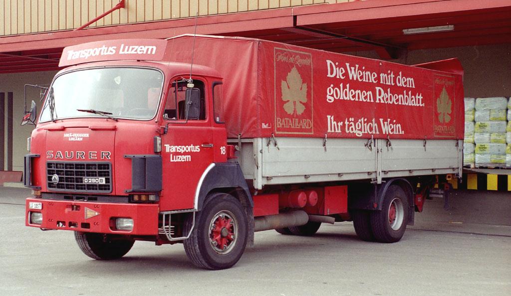 Transportus 18 BATAILLARD Luzern D290B F4x2 Oktober 1987